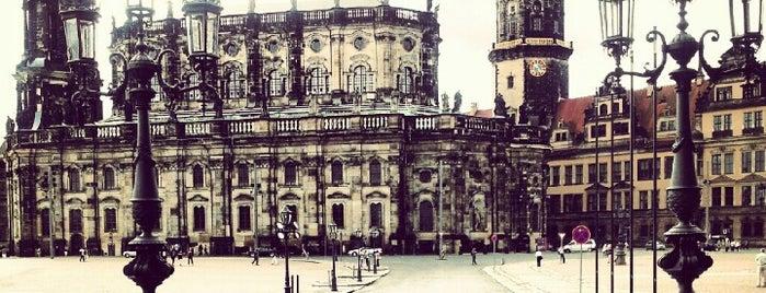 Schloßplatz is one of Dresden.