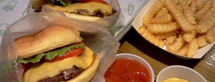 Shake Shack is one of Eat as the Obamas.