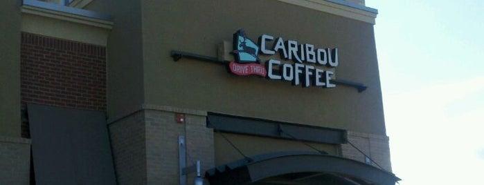 Caribou Coffee is one of Tempat yang Disukai Mark.