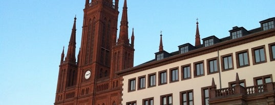Schlossplatz is one of A local's guide: 48 hours in Wiesbaden.