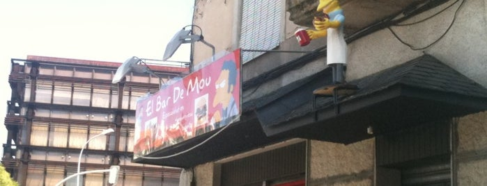El bar de Moe is one of Restaurantes Ourense.