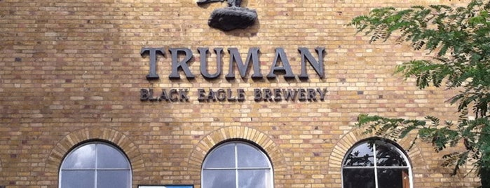 The Old Truman Brewery is one of Gespeicherte Orte von Frau.