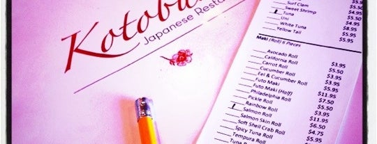 Kotobuki Sushi Bar is one of Best Vegan Spots in Norfolk, VA.