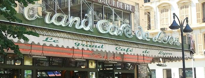 Le Grand Café de Lyon is one of FR2DAY's Favourite Cafés & Bars on the Côte d'Azur.