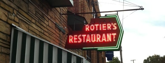 Rotier's Restaurant is one of Road Trip!.