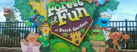 Sesame Street Forest of Fun - Busch Gardens is one of Going Traveling!.