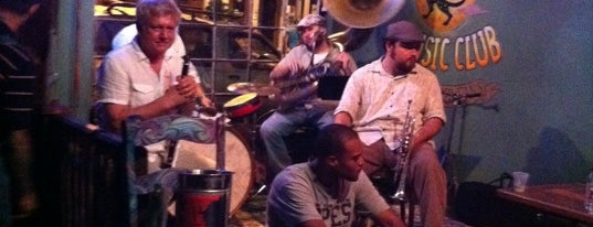 The Spotted Cat Music Club is one of New Orleans To-Do List.
