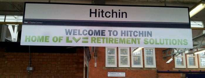 Hitchin Railway Station (HIT) is one of London.