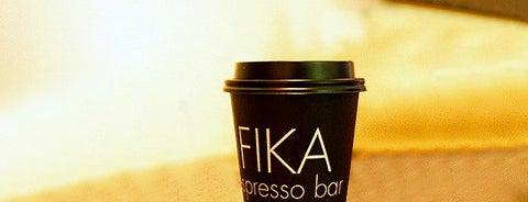 FIKA Espresso Bar is one of [To-do] New York.