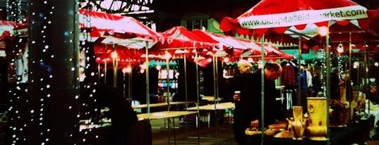 Old Spitalfields Market is one of #LoveE1.
