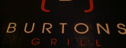 Burtons Grill is one of Lugares favoritos de Eric.