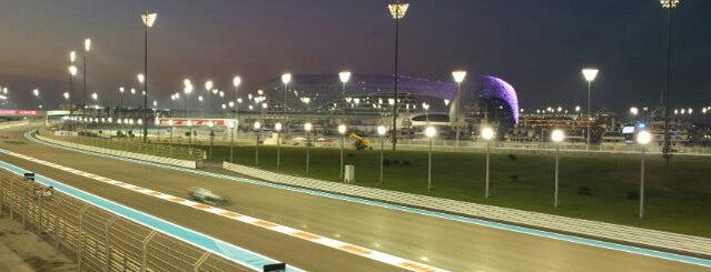 Yas Marina Circuit is one of 2012 Formula 1™ racing circuits essentials.