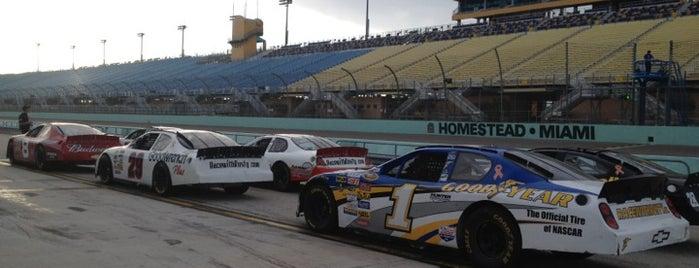 Homestead-Miami Speedway is one of Orte, die Jim gefallen.