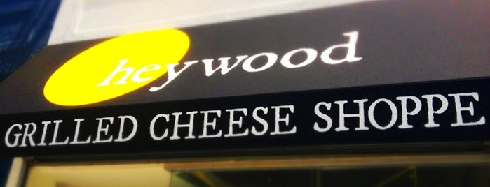 Heywood - A Grilled Cheese Shoppe is one of สถานที่ที่ Hillary ถูกใจ.