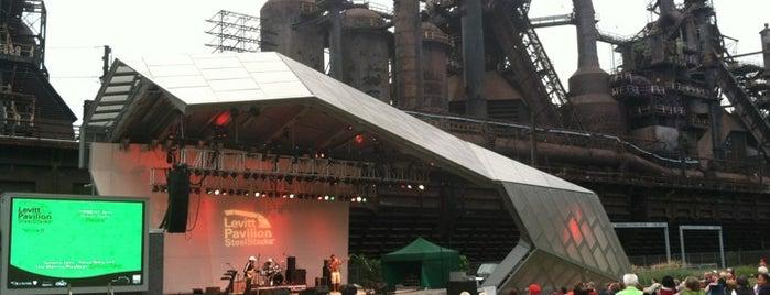 Levitt Pavilion is one of Musikfest 2016.