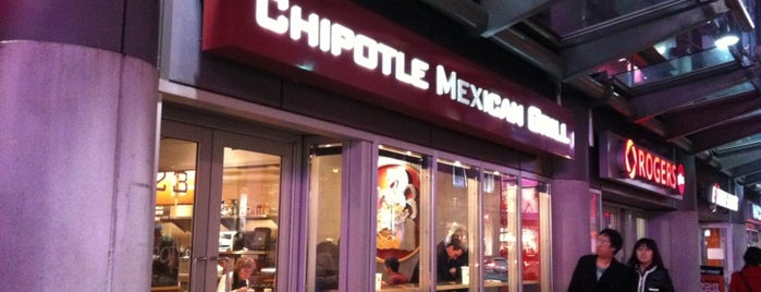 Chipotle Mexican Grill is one of Lieux sauvegardés par José.