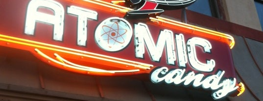 Atomic Candy is one of Denton.