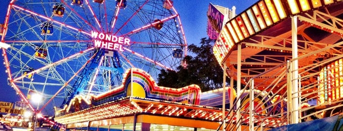 Coney Island Beach & Boardwalk is one of New York's Best Entertainment - 2012.