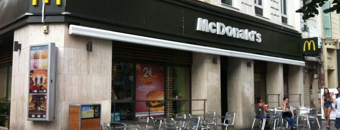 McDonald's is one of Gespeicherte Orte von Lespinasse.