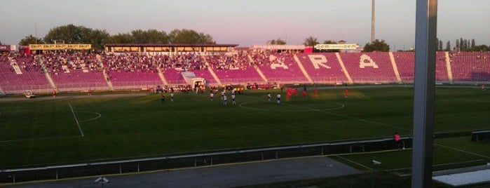 "Stadionul ""Dan Păltinișanu"" is one of Timisoara🇷🇴."