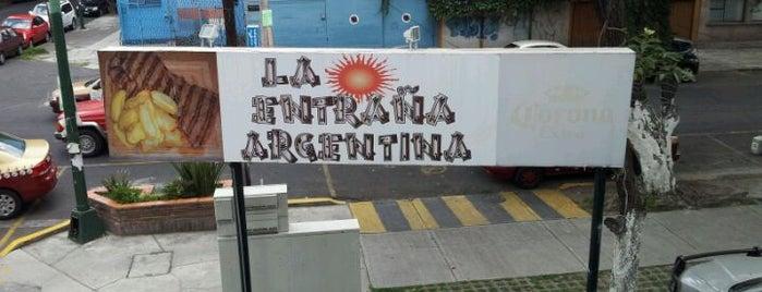 La Entraña Argentina is one of Tempat yang Disimpan Roberto.
