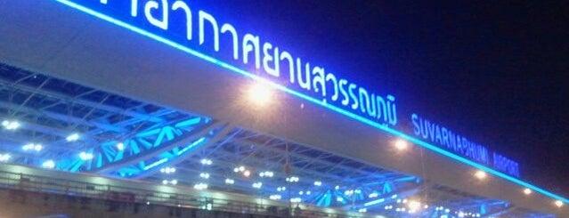 Аэропорт Суварнабхуми (BKK) is one of Airports I've flown thru.