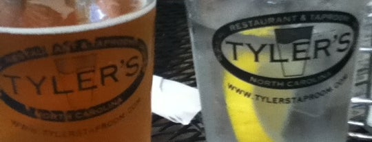 Tyler's Restaurant & Taproom is one of Get in my belly.