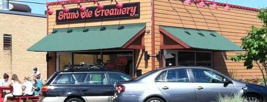 Grand Ole Creamery is one of Posti che sono piaciuti a Kristen.