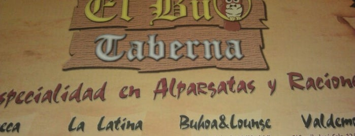 Taberna El Buo is one of Restaurantes.