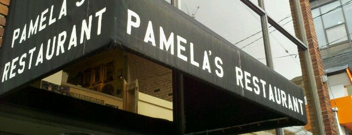 Pamela's P&G Diner is one of Pitts.