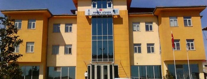 KİŞGEM (Kadın Girişimci İş Geliştirme Merkezi) is one of Pendik.