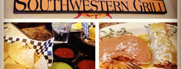 Cantina Southwestern Grill is one of Lugares favoritos de Jordan.