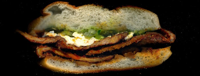 """Yola's Cafe is one of """"Dream Sandwiches"""" List."""