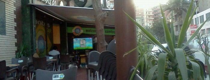 SANTOS CAFÉ is one of Cafe & Reastaurants.