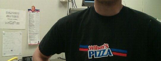 Wilson's Pizza is one of Gespeicherte Orte von N..