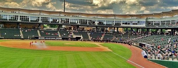 Arvest Ballpark is one of Minor League Ballparks.