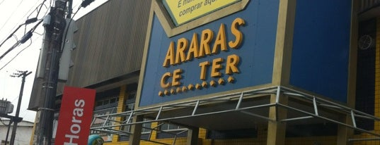 Araras Center is one of Shoppings Norte Brasil.