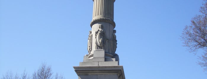 Soldiers and Sailors Monument is one of IWalked Boston's Public Art (Self-guided Tour).