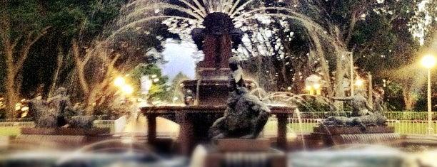 Archibald Fountain is one of Australia - Sydney.