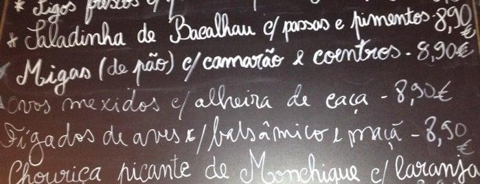 Taberna Ideal is one of Lisboa ... restaurantes.