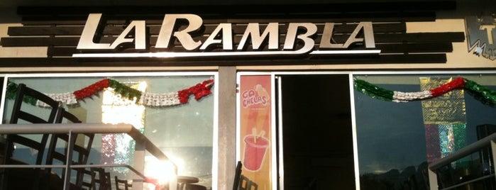 La Rambla is one of สถานที่ที่ Flor ถูกใจ.