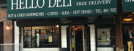 Rupert Jee's Hello Deli is one of New York.