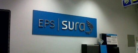 EPS SURA is one of Lugares.