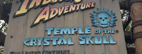 Indiana Jones Adventure Temple of the Crystal Skull is one of สถานที่ที่ Ishka ถูกใจ.
