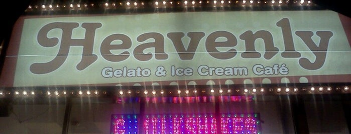 Heavenly Cafe & Gelato is one of Ice cream.