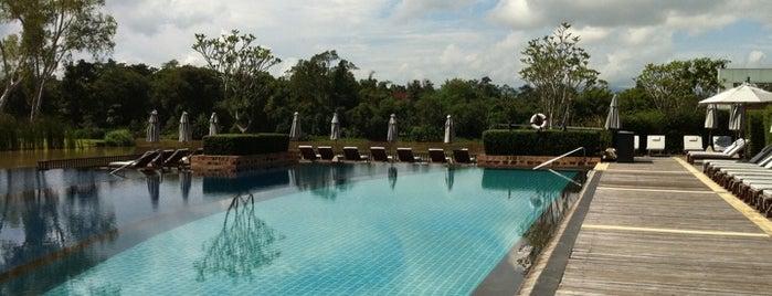 Le Méridien Chiang Rai Resort, Thailand is one of Tempat yang Disukai Kanokporn.