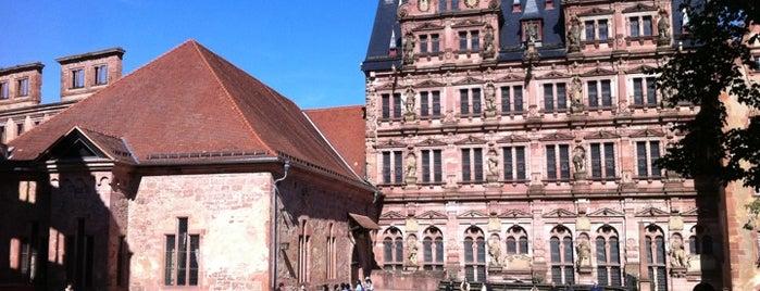 Château de Heidelberg is one of 100 обекта - Германия.
