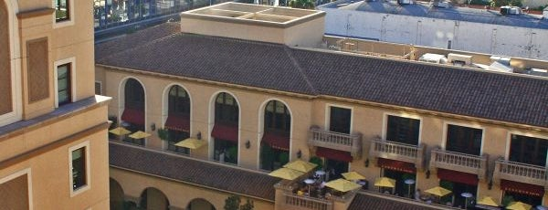 The Rooftop Grill is one of LA-Dining.