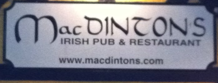 MacDinton's Irish Pub & Restaurant is one of My FAV Hot Spots.