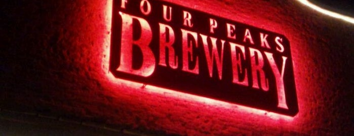 Four Peaks Brewing Company is one of Phoenix New Times.